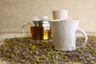 Lavender & Chamomile herbal tisane