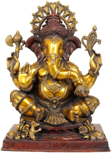 Brass Ganesa Statue owned by Sean