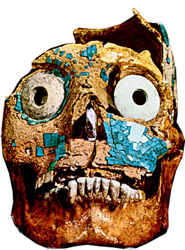 Aztec Death Mask