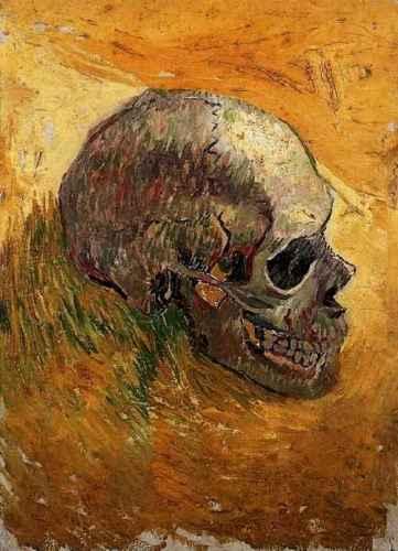 Skull-Van Gogh